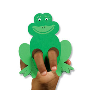frog finger puppet template - 301 moved permanently