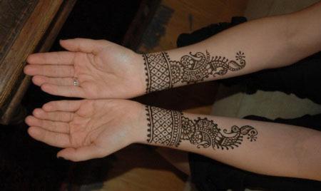 Simple Henna Bracelet Band Creative Arty
