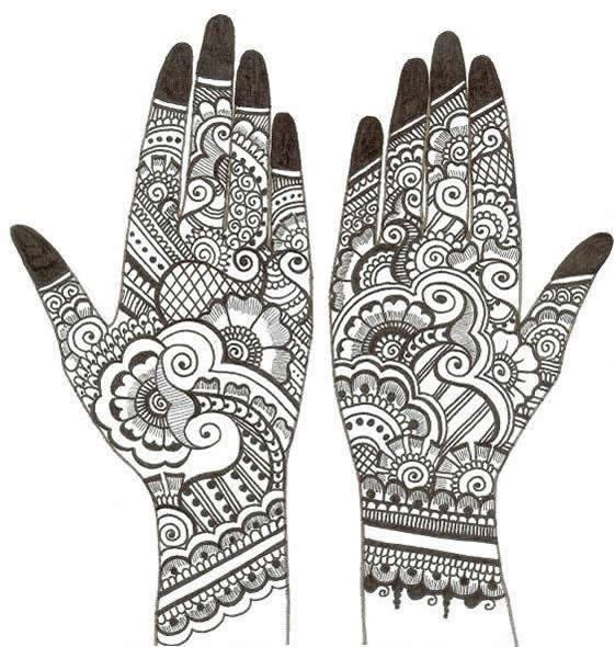 Mehendi Sketch | Creative Arty
