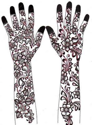 Simple Back Hand Henna Creative Arty